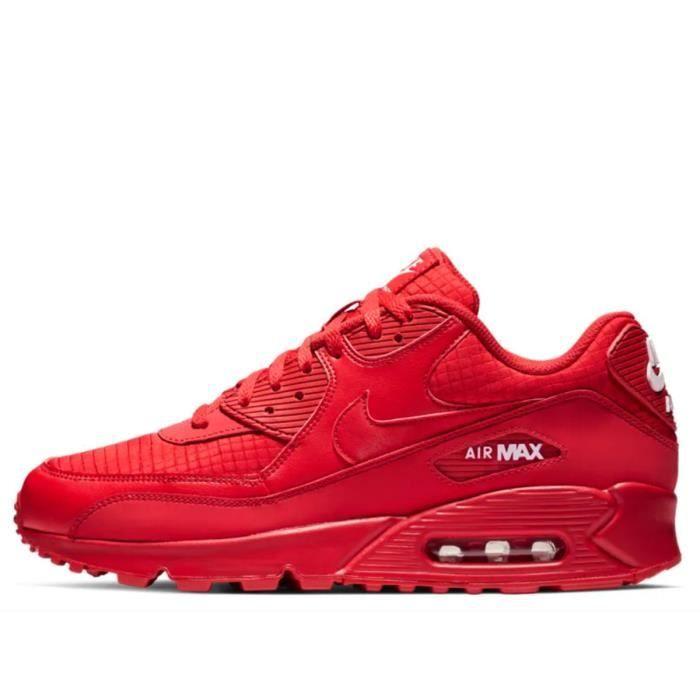 air max 90 essential rouge femme,Baskets Nike AIR MAX 90 ESSENTIAL Rouge Achat Vente basket
