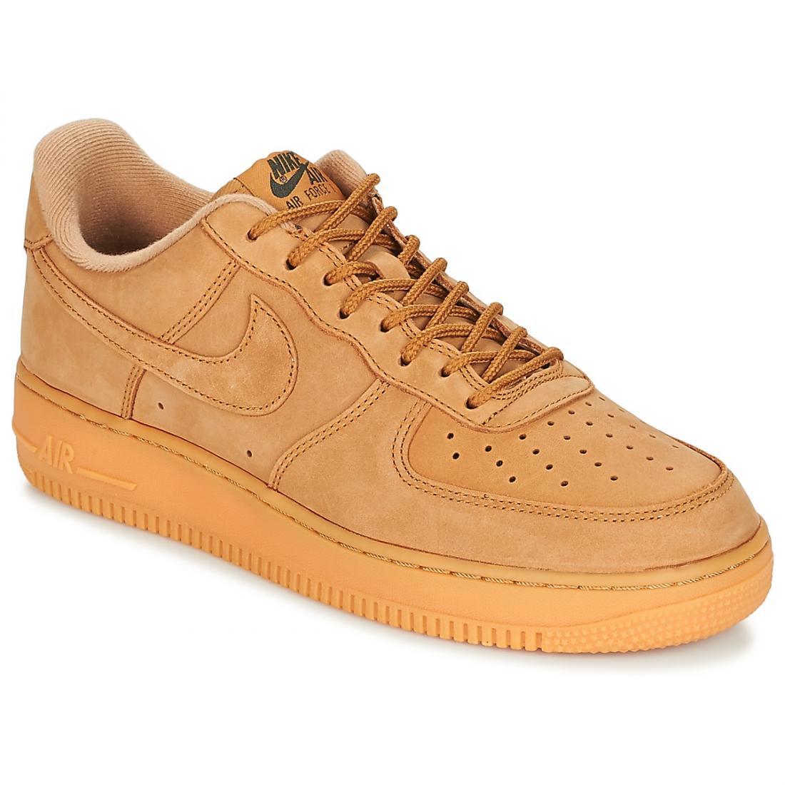 nike chaussure brun