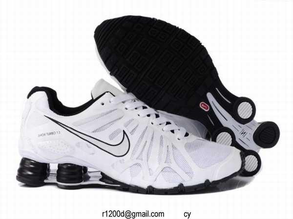 chaussure nike air shox homme